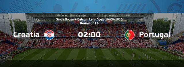 Prediksi Kroasia vs Portual EURO Perancis