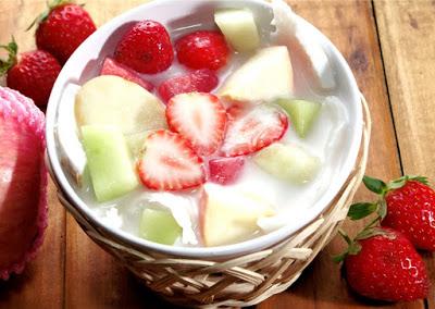 sop buah via harian resep