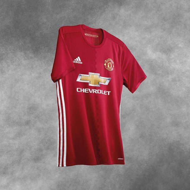 Ini adalah gambar baju baru MU untuk musim 2016-2017