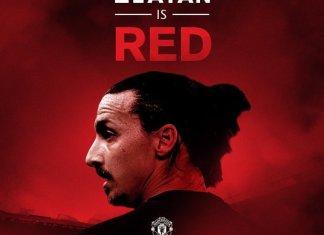 Gambar Zlatan Ibrahimovic transfer Manchester United via @utdreport