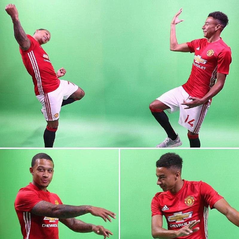 Baju baru Manchester United 2016-2017 via Instagram MU