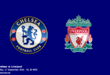Gambar jadwal pertandingan Chelsea vs Liverpool Sabtu 17 September