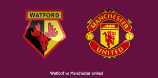 Jadwal pertandingan Watford vs Manchester United