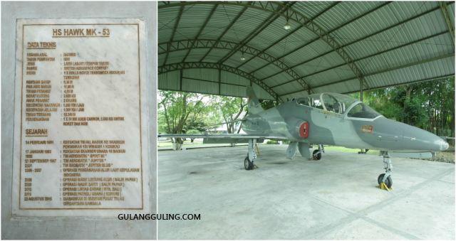 Pesawat HS Hawk MK-53.