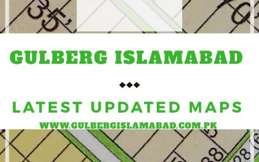 Gulberg Residencia Latest Updated Maps