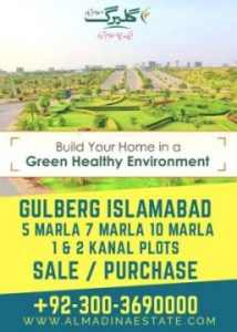 Development Status of Gulberg Residencia