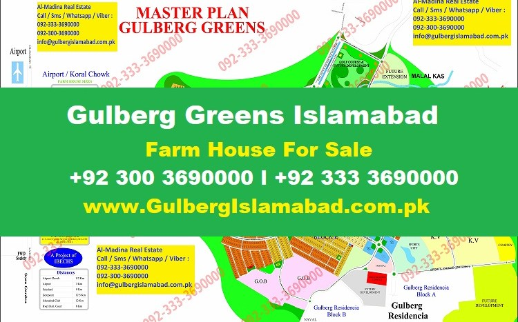 Gulberg Greens Farm Houses