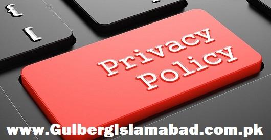 gulberg islamabad privacy policy