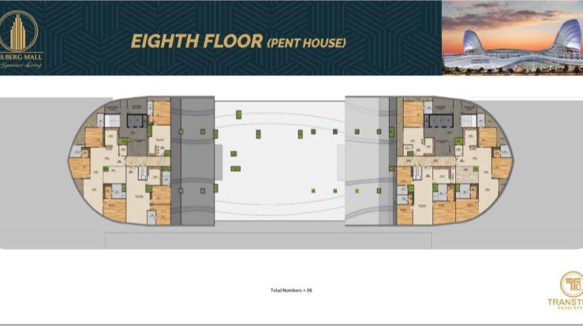 eighth floor gulberg mall