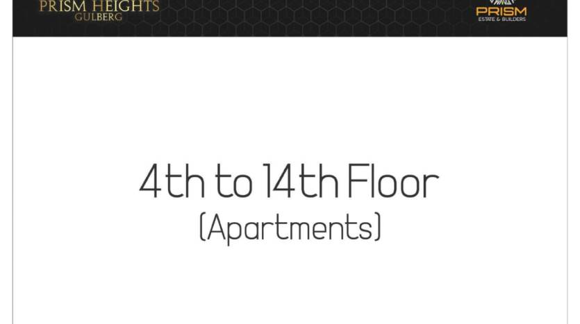 Forth To Fourteen Floor Payment Plan