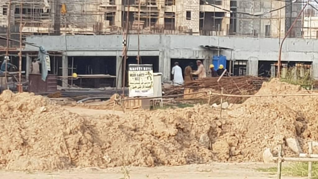 Gulberg Dream Heights Construction Updates 05