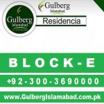 Gulberg Residencia Block E