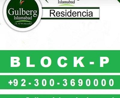 Gulberg Residencia Islamabad Block P