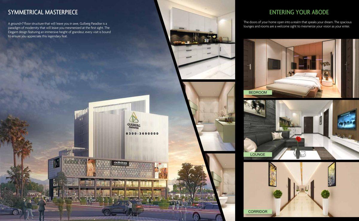gulberg paradise executive apartments