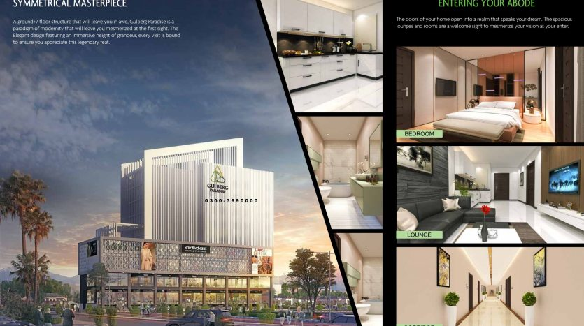 gulberg paradise executive apartments