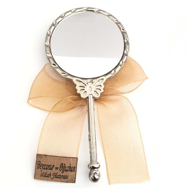 Nikah Nişan Düğün Kına Hediyelik Kelebek Ayna Güler Tasarım