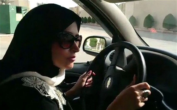 Image result for PHOTOS OF SAUDI WOMEN DRIVING A CAR