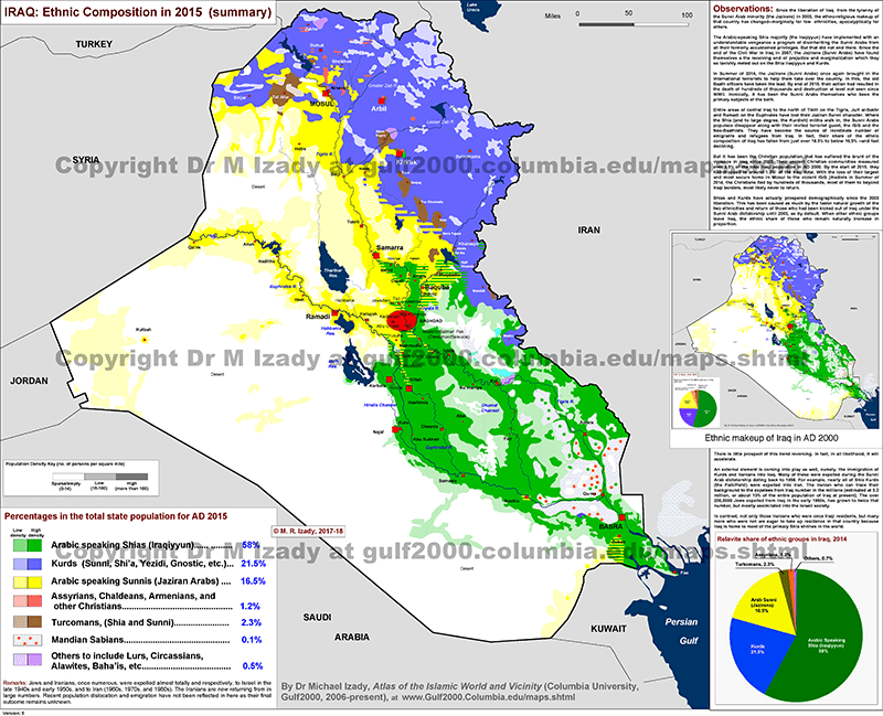 Iraq's demographic divide