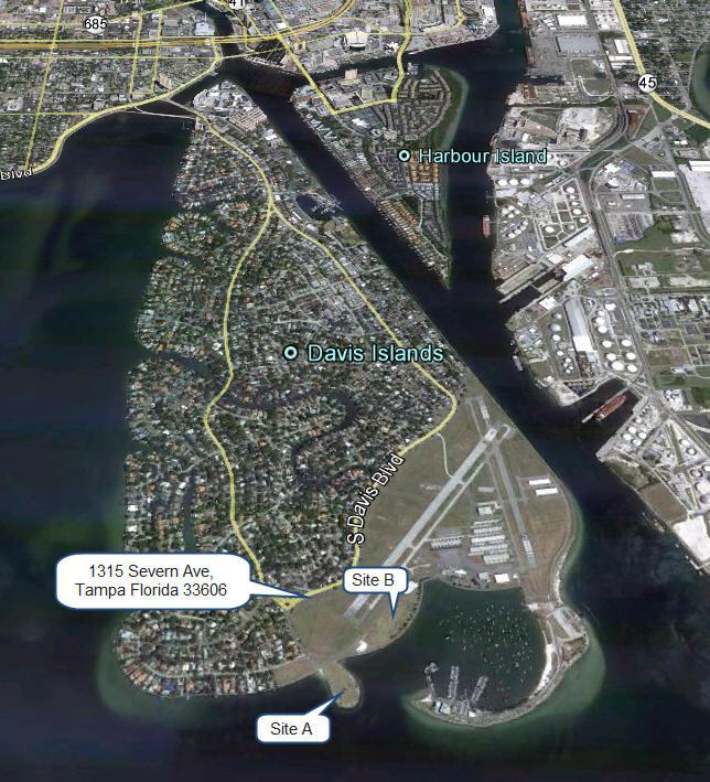Davis Island Yacht Club Beach Florida Sunset Weddings