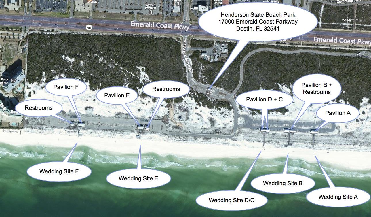 Henderson State Beach Park Gulf Beach Weddings 850