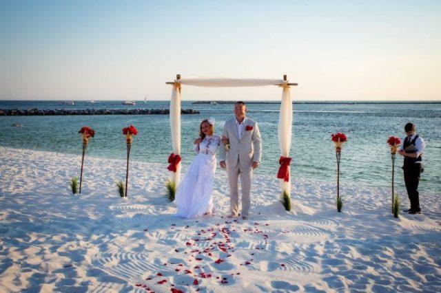 Mariage de couple en Floride
