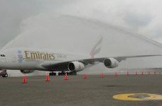 Emirates operates one-off A380 to Taiwan