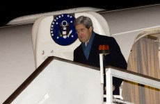Kerry Makes First Foreign Trip To Middle East