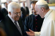 Palestinian President Abbas Invites Pope To Visit Holy Land