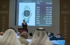 Christie's Dubai sells $26m worth of art and watches in 2016
