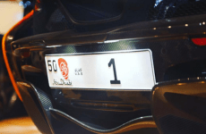 Abu Dhabi Number 1 car plate sells for Dhs31m