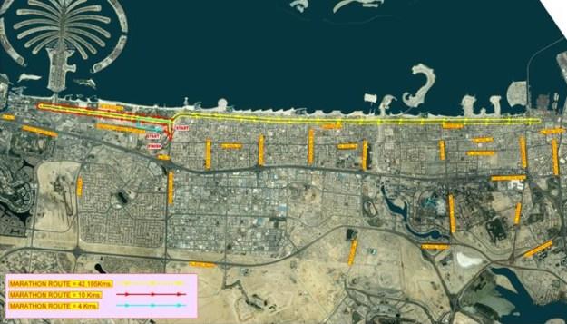 dubai-marathon-route