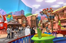 Pictures: Warner Bros World theme park takes shape at Abu Dhabi