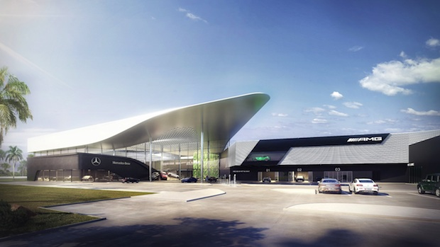 New Mercedes Benz showroom to be developed on Abu Dhabi's