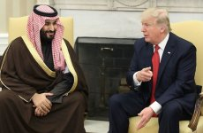 Trump, new Saudi Crown Prince share hardline views on Iran