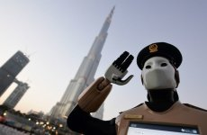 Robocop joins Dubai police duty at Burj Khalifa