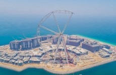 Work progresses on world's largest observation wheel in Dubai