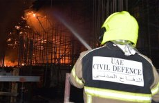 Fire breaks out at construction site in Dubai's Jumeirah district