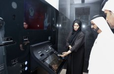 Dubai's ruler opens 'world's first' smart police services centre