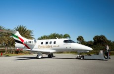Emirates flight training academy receives first Embraer Phenom 100EV