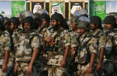 Saudi army cadets travel to India for training