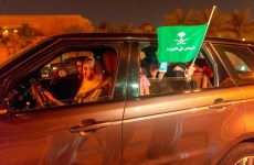 Saudi women take to the roads at midnight as driving ban ends