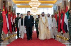 Video: Chinese President Xi Jinping arrives in the UAE