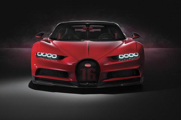Bugatti Chiron Sport supercar