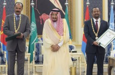 Ethiopian, Eritrean leaders sign peace agreement in Jeddah
