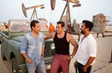 Indian actors Salman Khan, Katrina Kaif in Abu Dhabi for Bollywood film Bharat