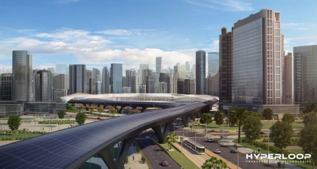 World's-first' hyperloop system to open in Abu Dhabi in 2020