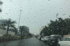 Rains hit parts of the UAE with poor visibility warning