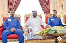 In pics: Sheikh Mohammed meets with the first UAE astronauts