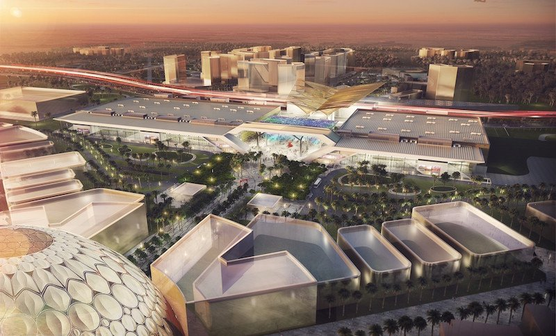 Video: This is what the Dubai exhibition centre at Expo 2020 will look like