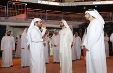 Sheikh Mohammed visits mega event venue Dubai Arena ahead of its opening